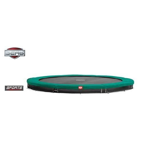 BERG InGround Champion Trampoline - Green