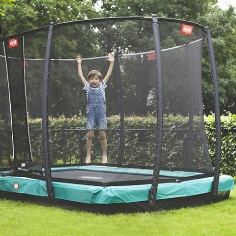 BERG InGround EazyFit Trampoline - Green