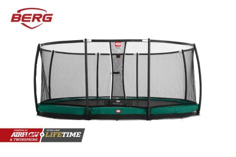 BERG InGround Grand Champion Trampoline - Green