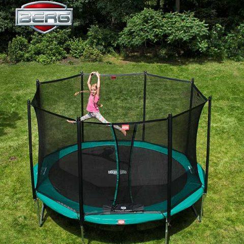 BERG Favorit Regular Trampoline with Comfort Safety Net