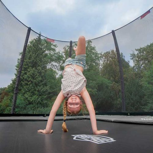 BERG EasyFit Regular Trampoline with Safety Net Deluxe - Grey