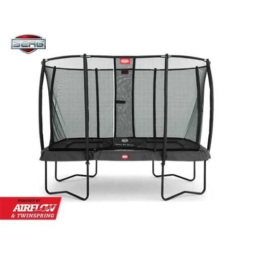 BERG Ultim Champion 330 Trampoline with Safety Net Deluxe - Grey