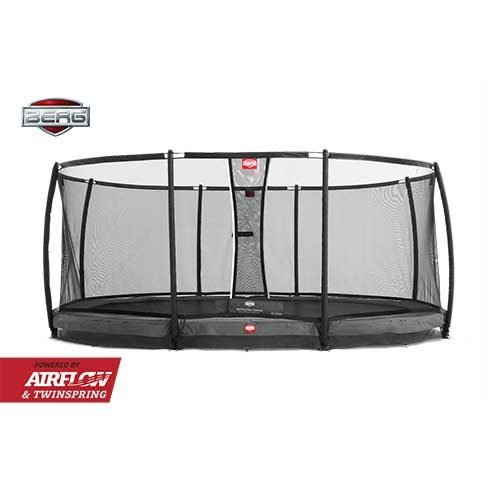BERG InGround Grand Champion Trampoline - Grey