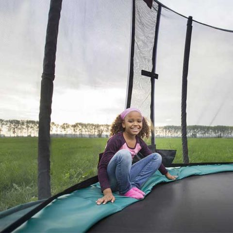 BERG Champion Regular Trampoline with Deluxe Safety Net