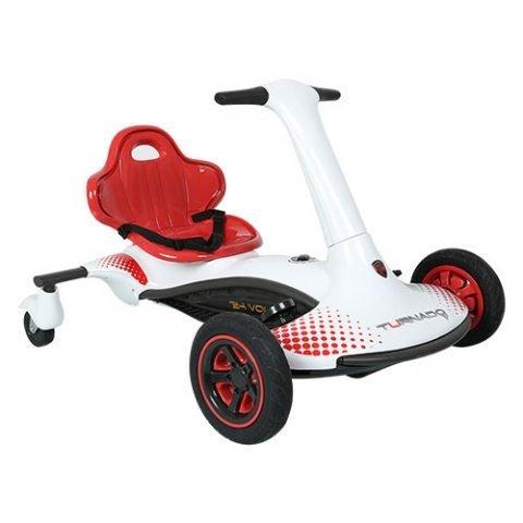 Rollplay Turnado Drift Racer White