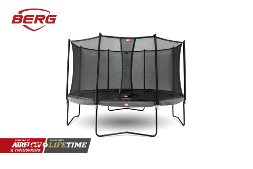 BERG Champion Trampoline Green with Comfort Safety Net