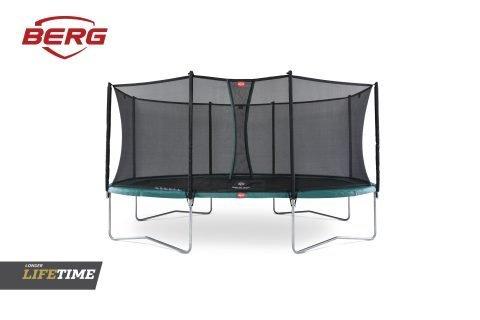 BERG Grand Favorit Trampoline 520 Black & Safety Net Comfort
