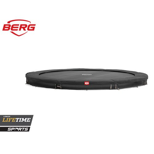 BERG In Ground Favorit Grey Trampolines