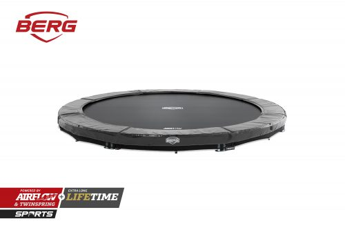 BERG InGround Elite Trampoline - Grey
