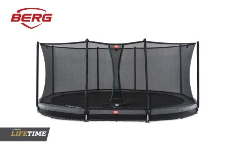 BERG In Ground Grand Favorit Grey with Comfort Safety Net