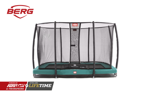 BERG Ultim Champion InGround 330 with Deluxe Safety Net Green