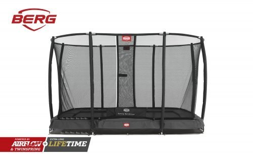 BERG Ultim Champion InGround 330 with Deluxe Safety Net Grey
