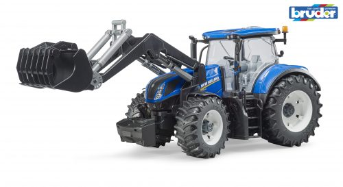 Bruder New Holland T7.315 Tractor with Front Loader