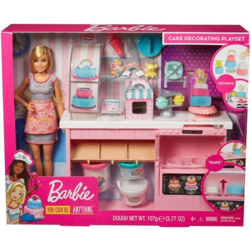 Barbie Cake Decorating Set