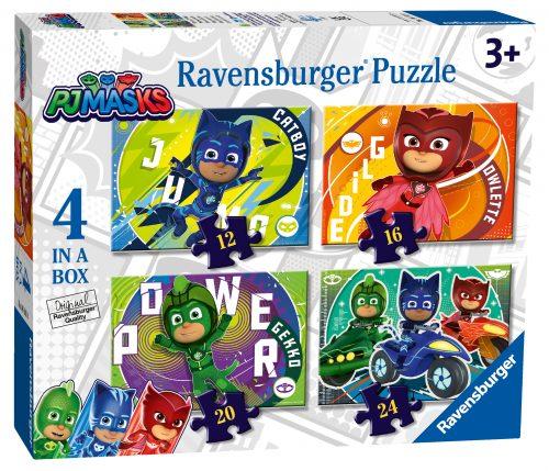 Ravensburger PJ Masks 4 in a Box