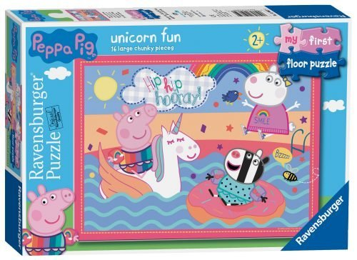 Ravensburger Peppa Pig Unicorn Fun, My First Floor Puzzle