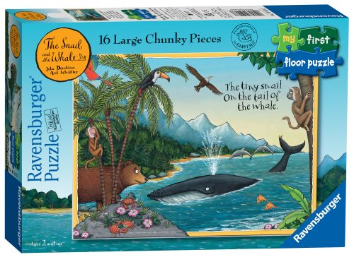 Ravensburger The Snail & The Whale My First Floor Puzzle