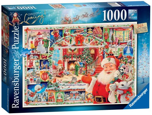 Ravensburger Christmas is Coming! Limited Edition 2020 Puzzle 1000pc