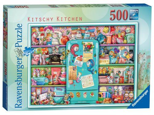 Ravensburger Kitschy Kitchen Puzzle 500pc