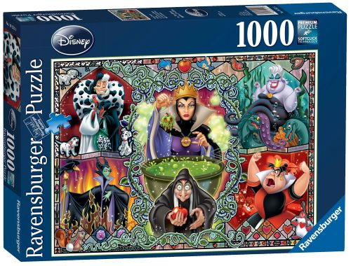Ravensburger Disney Wicked Women 1000pc Puzzles