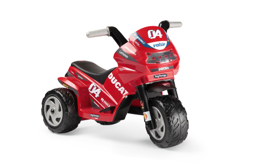 Peg Perego Mini Ducati EVO Childrens 6V Battery Three-Wheel Motorbike