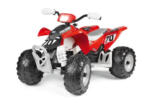 Peg Perego Red Polaris Outlaw 330w 12v quad bike