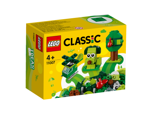 Lego Creative Green Bricks 11007