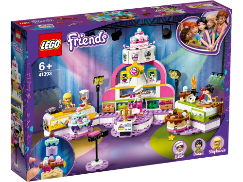 LEGO Friends Baking Competition with Cakes & Cupcakes Set 41393