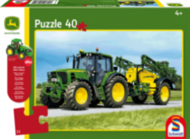 John Deere: 6630 Tractor with Sprayer (40pc) inc. SIKU model