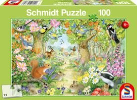 Schmidt Animals in the Forest (100pc) Puzzle