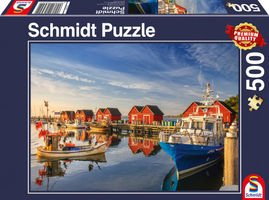 Schmidt WEISSE WIEK FISHING HARBOUR (500PC) Puzzle