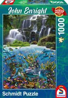 Schmidt John Enright – Under the Waterfall, 1000 pcs Puzzle