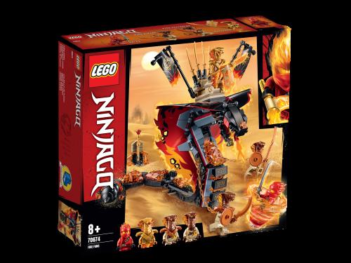 LEGO NINJAGO Fire Fang Snake Toy 70674
