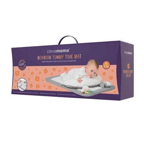Clevamama ClevaFoam Newborn Tummy Time Mat