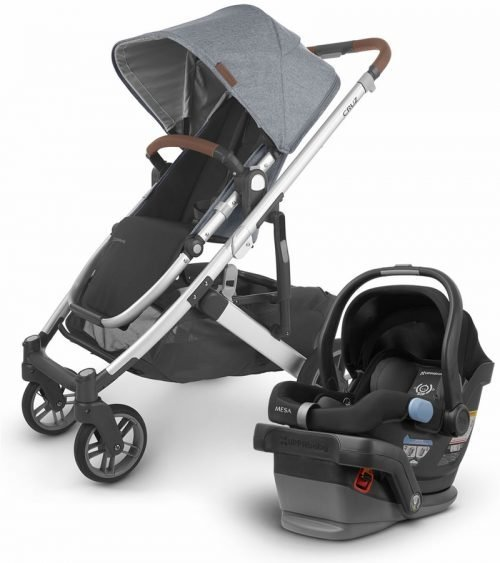 Uppababy Cruz 2 Stroller Gregory with MESA i-SIZE Infant Car Seat
