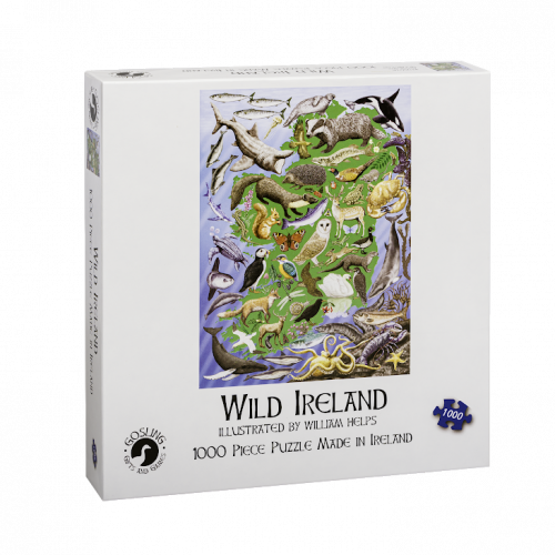 Goslings Wild Ireland Jigsaw 500pcs