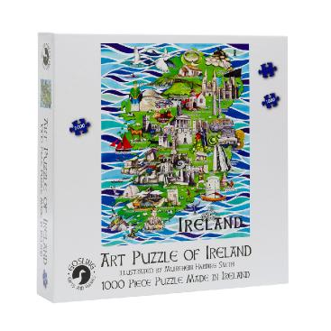 Goslings Art Puzzle of Ireland Jigsaw 1000pcs