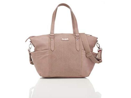 BabyMel Anya Changing Bag Dusty Pink