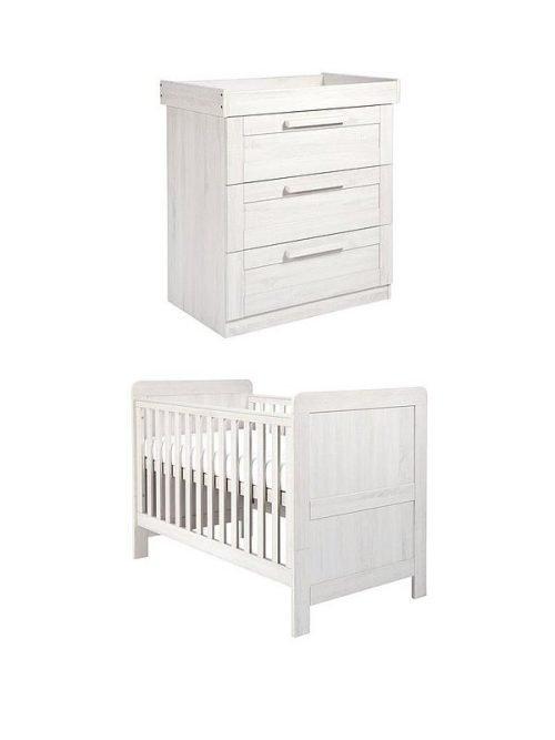 Mamas & Papas Atlas Cot Bed & Dresser