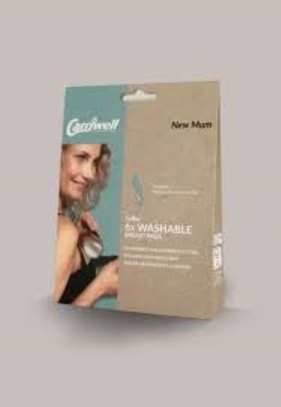 Carriwell 6 x Washable Nursing Breast Pads