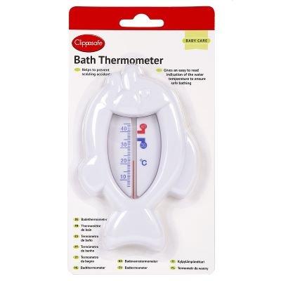 Clippasafe Bath Thermometer - Fish Shape