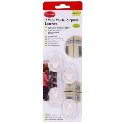 Clippasafe Mini Multi-Purpose Self-Adhesive Latches