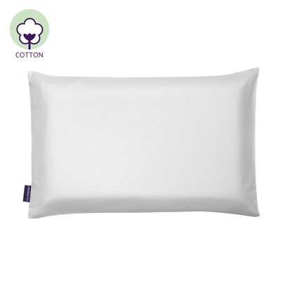 Clevamama Baby Pillow Case - 100% Natural Cotton