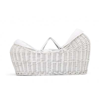 Mamas & Papas Welcome To The World Moses Basket - White