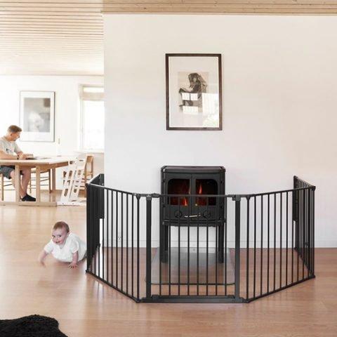 BabyDan Olaf Room Divider – XXX Wide Black